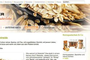 Eschenfelder: Online-Auftritt und Shop