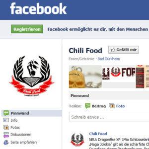 Fanpage von Chilifood 2010