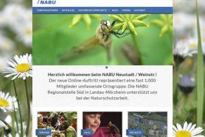 Der NABU Neustadt präsentiert sich professionell