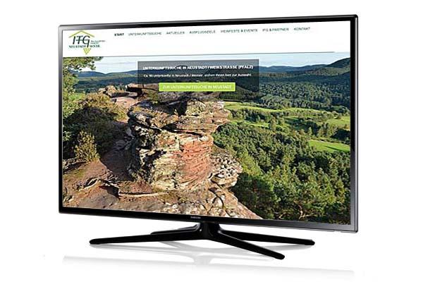 Website-Relaunch für Tourismusportal
