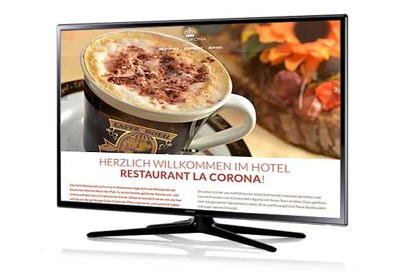 Website-Relaunch Italienisches Restaurant mit Gästezimmern