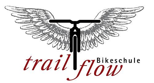 Logo der Bikeschule Trailflow