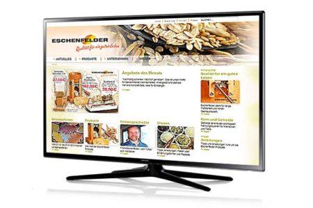 Online-Shop und Website für Hersteller